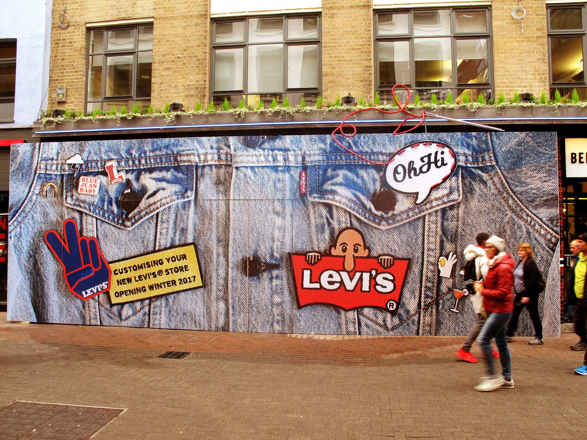 Levis+hoarding+carnaby+street